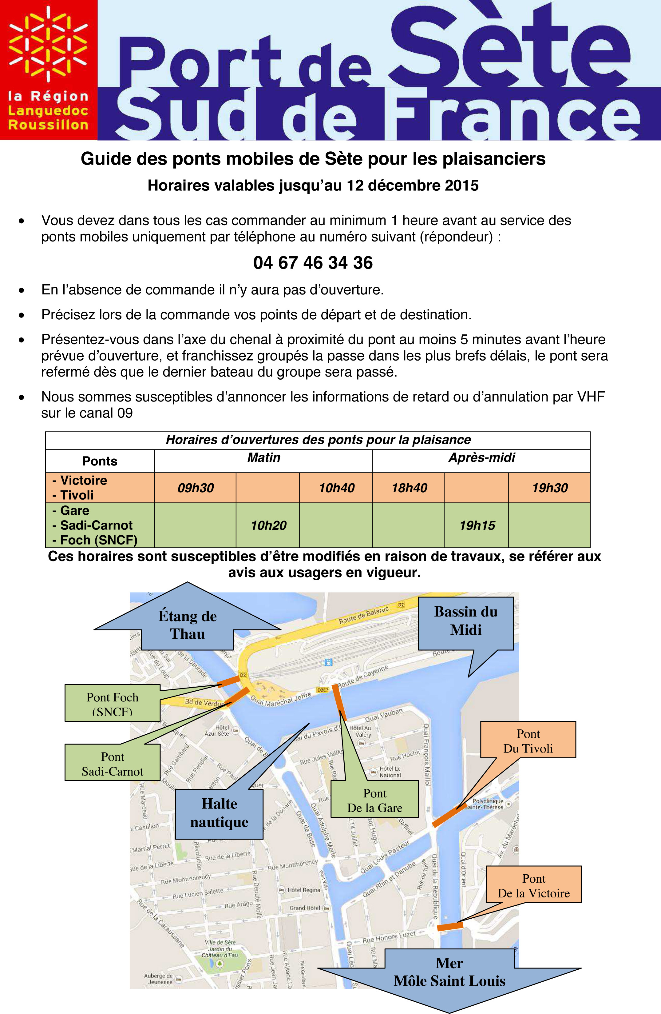 Projet Comment passer les ponts 2015