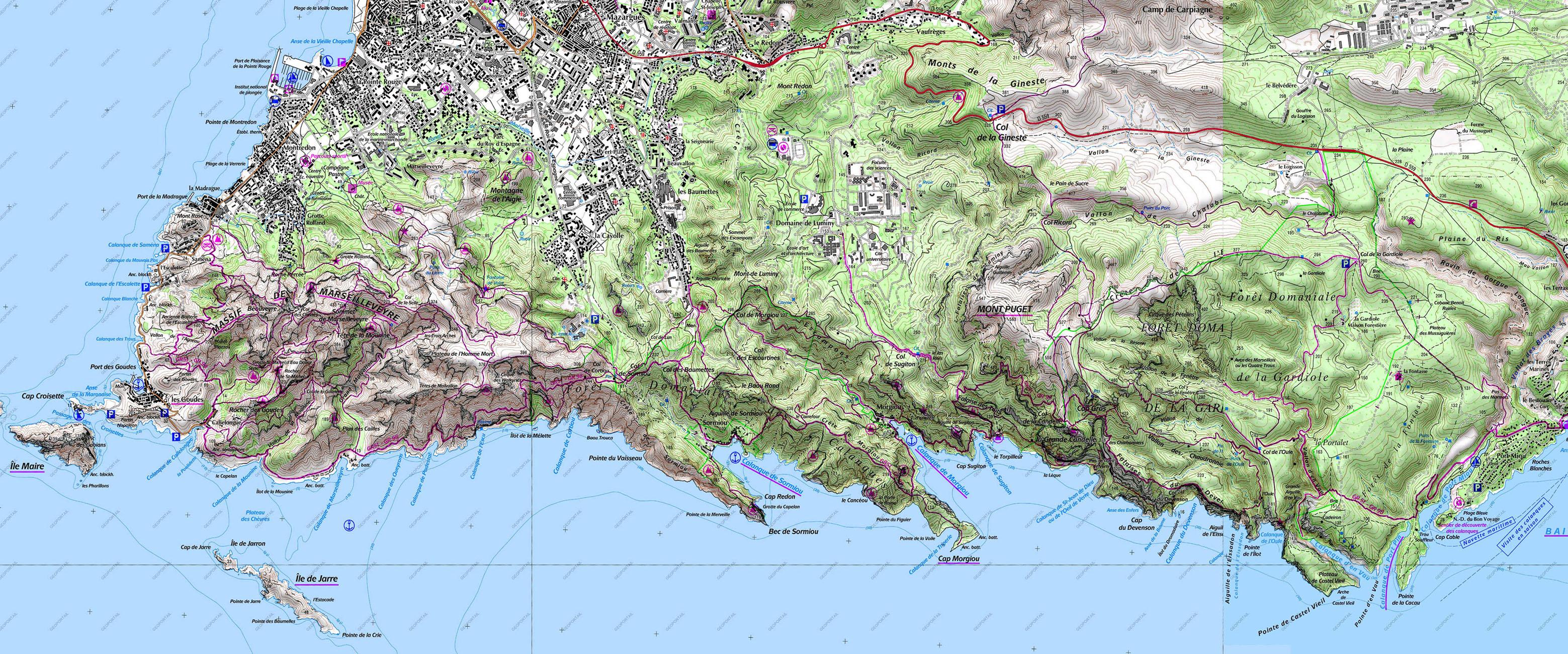 les Calanques Marseille sailmediterraneecomsailmediterraneecom