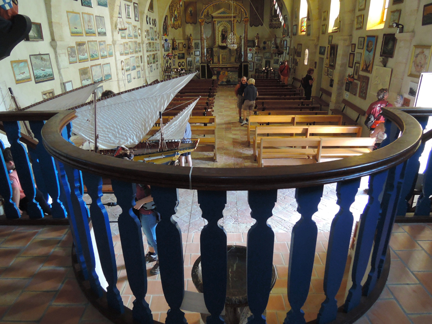 Gruissan Maritime church : La Clape