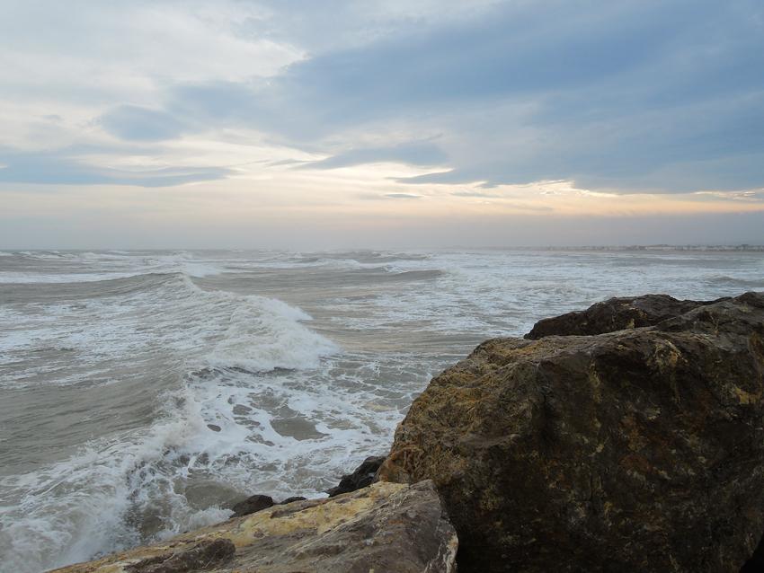 Gruissan plage Marin wind