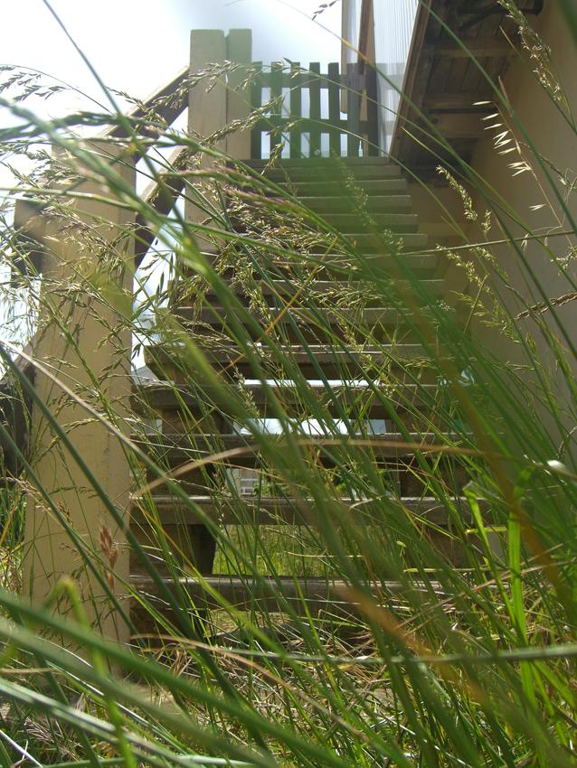 Gruissan plage stairway