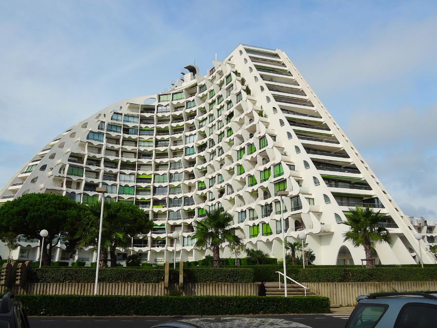 La Grande Motte impressive building