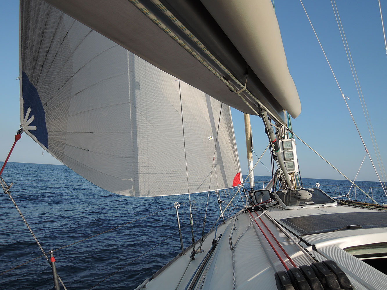 beneteau-first-40-7-code-o-running-wind-speed