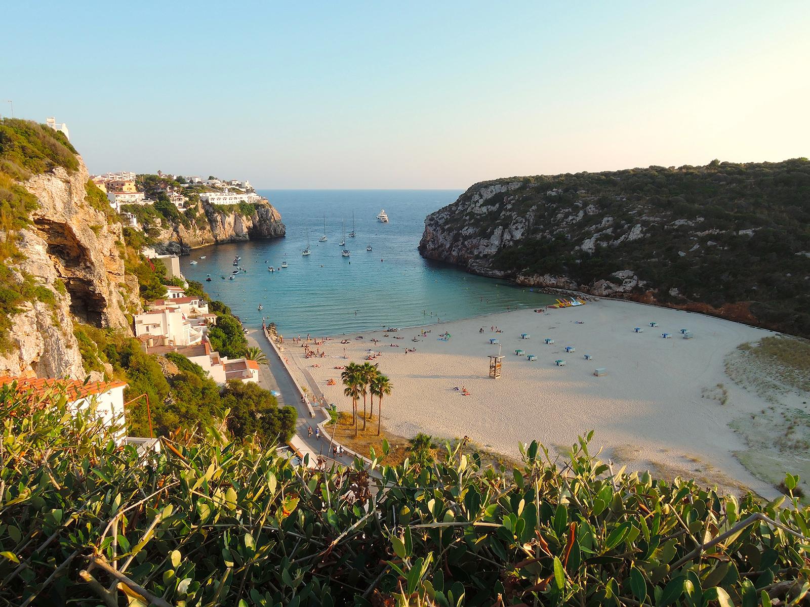 Cala en Porter Menorca Balearic Islands