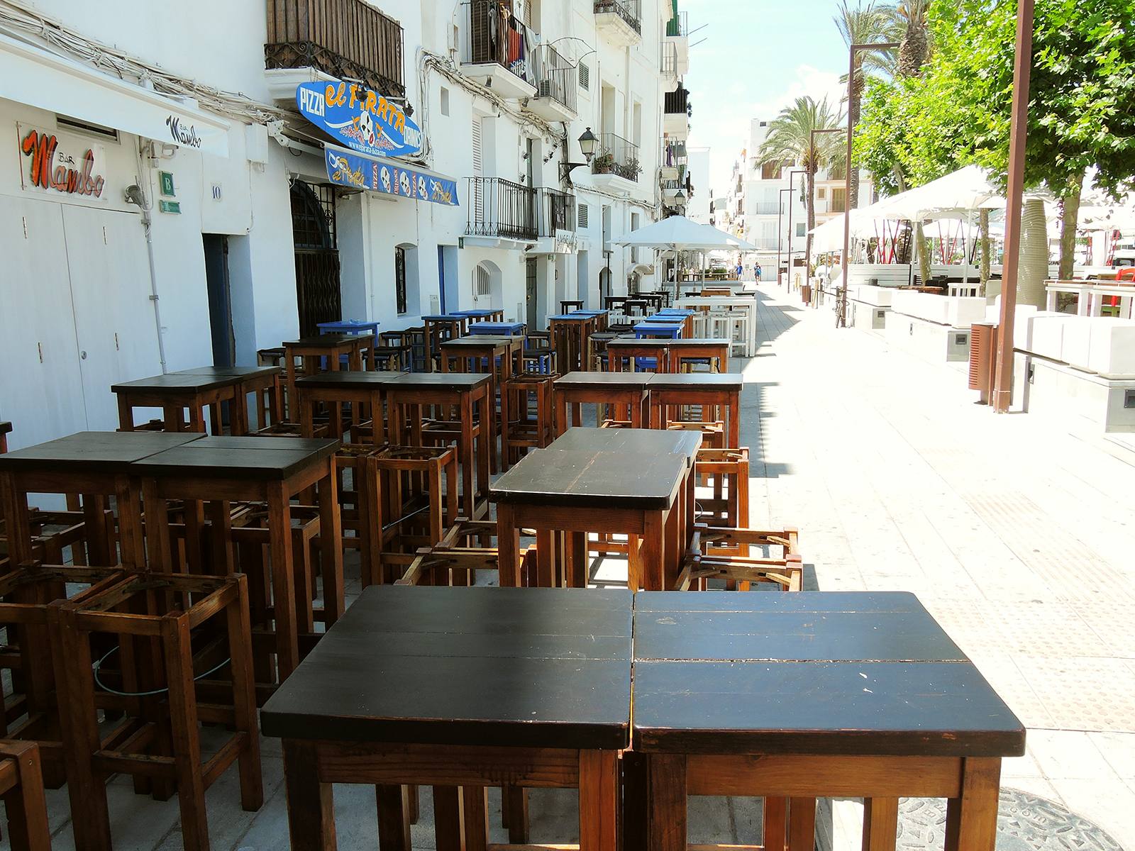 Ibiza-Old-Town-bars-at-daytime